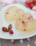 浪漫有爱的凉粉:玫瑰花凉粉