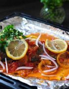 希腊烤鱼的做法