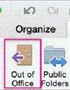 Outlook 2016 for Mac设置自动回复外出邮件