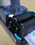 解决条码打印机色带回收轴不转圈的问题
