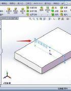 在SolidWorks中怎样将模型相对基准面平移或旋转