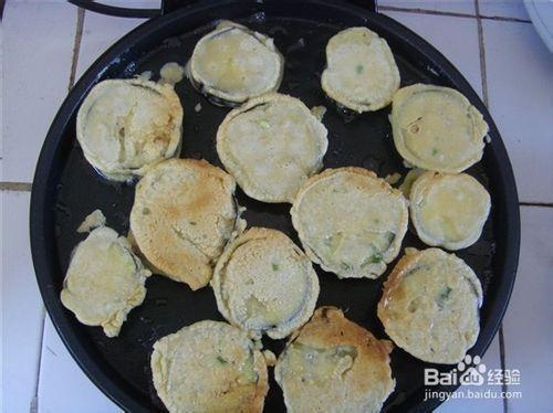 自制营养美味鸡蛋茄子饼