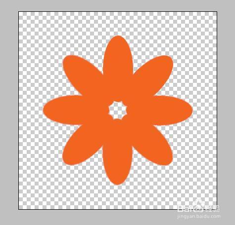 PS如何制作花瓣?