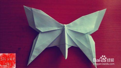手工折纸最全图文教程:[1]蝴蝶