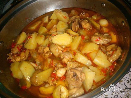 简单的土豆炖鸡做法