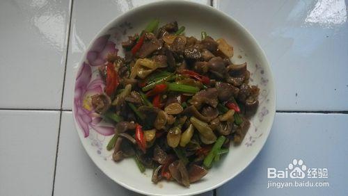 酸辣鸭胗(家常菜)