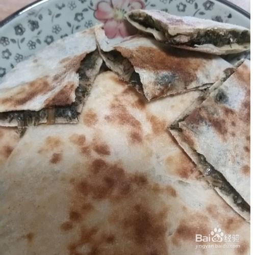 野菜肉饼---蒲公英肉饼