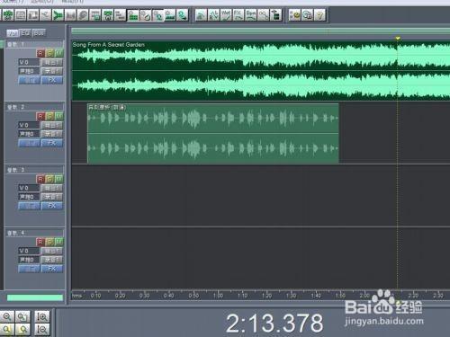 用Cool Edit pro快速制作有背景音乐的朗诵