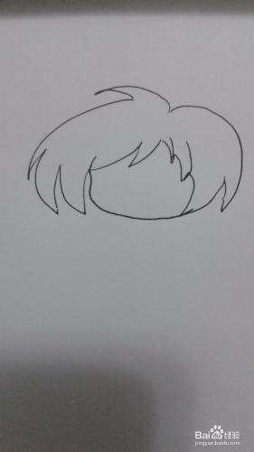 如何画可爱q版自画像签名